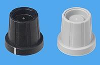 Typ 11,15mm Steckknopf - niedere Bauform mit Mutterabdeckung