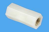 Abstandsbolzen Distin® sechskant, Kunststoff-Metall