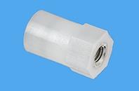 Abstandsbolzen Distin® sechskant/rund, Kunststoff-Metall