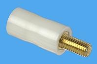 Abstandsbolzen Distinex® rund, Kunststoff-Metall