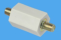 Abstandsbolzen Distex® sechskant, Kunststoff-Metall