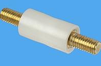 Abstandsbolzen Distex® rund, Kunststoff-Metall