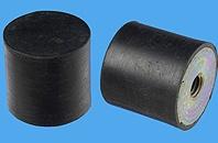 Gummi-Metall-Puffer mit einseitigem Innengewinde